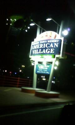 北谷「AMERICAN VILLAGE」